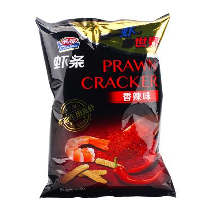 亲亲虾条(香辣)80g膨化休闲零食